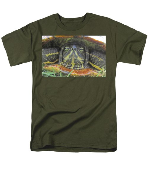 Peek A Boo Men's T-Shirt  (Regular Fit) by Judith Morris