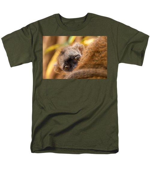 Peekaboo Men's T-Shirt  (Regular Fit) by Alex Lapidus