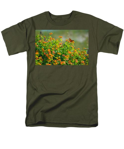 Perfectly Poised  Men's T-Shirt  (Regular Fit) by Mary Ward