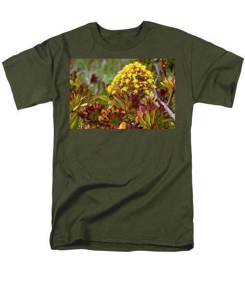 Petal Dome Men's T-Shirt  (Regular Fit) by Melinda Ledsome