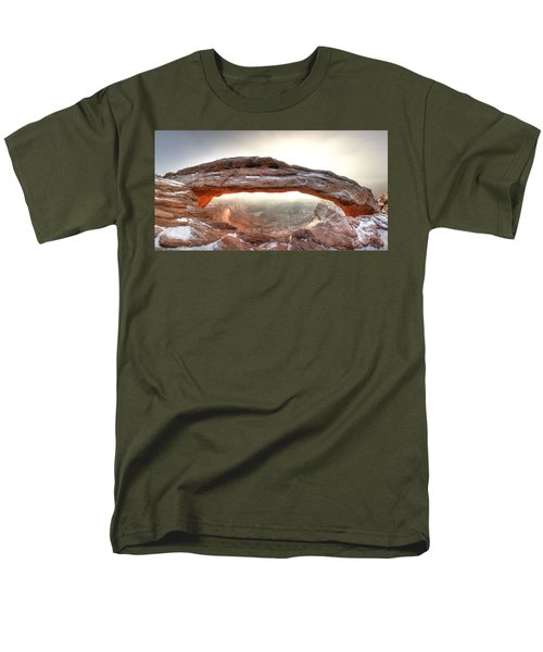 Men's T-Shirt  (Regular Fit) featuring the photograph Picture Window by David Andersen