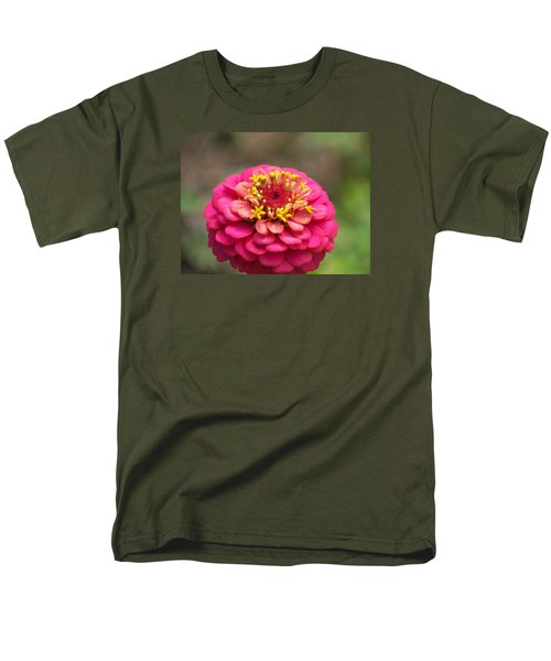 Men's T-Shirt  (Regular Fit) featuring the photograph Pink Floral  by Eunice Miller