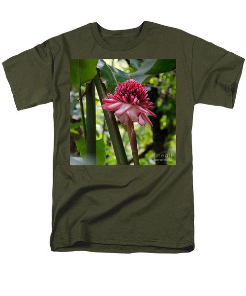 Pink Torch Ginger Men's T-Shirt  (Regular Fit) by Laurel Best