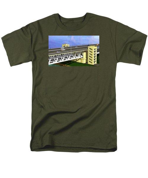 Podilsky Bridge Men's T-Shirt  (Regular Fit) by Oleg Zavarzin