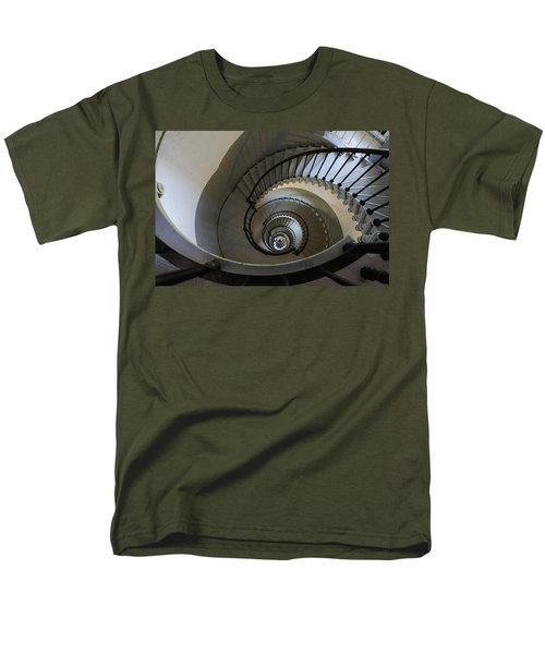 Ponce Stairs Men's T-Shirt  (Regular Fit) by Laurie Perry