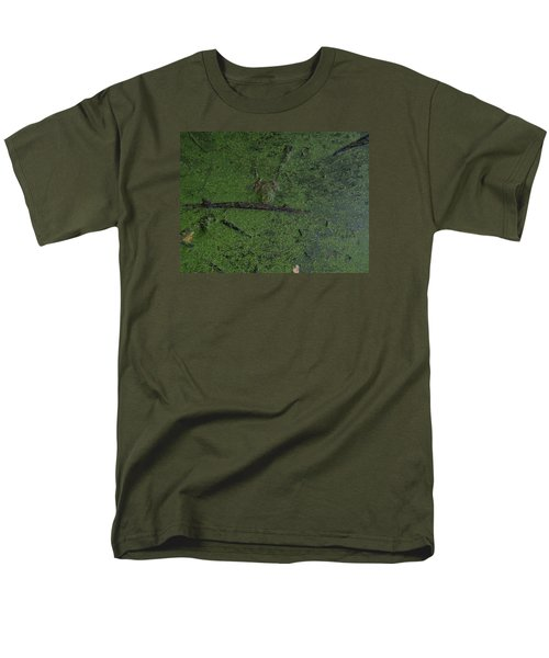 Men's T-Shirt  (Regular Fit) featuring the photograph Pond Eyes by Robert Nickologianis