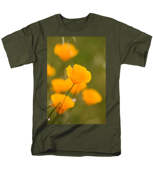 Men's T-Shirt  (Regular Fit) featuring the photograph Poppy I by Ronda Kimbrow