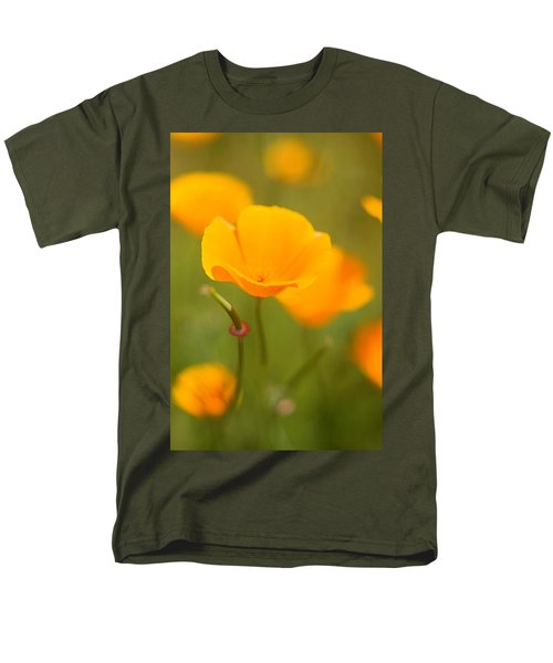 Men's T-Shirt  (Regular Fit) featuring the photograph Poppy II by Ronda Kimbrow