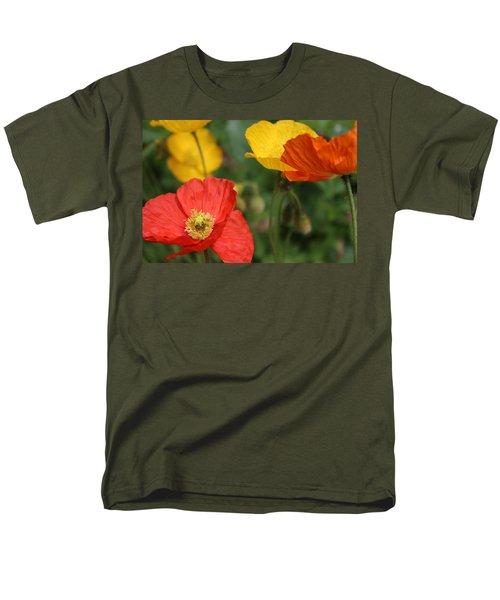 Poppy Iv Men's T-Shirt  (Regular Fit) by Tiffany Erdman