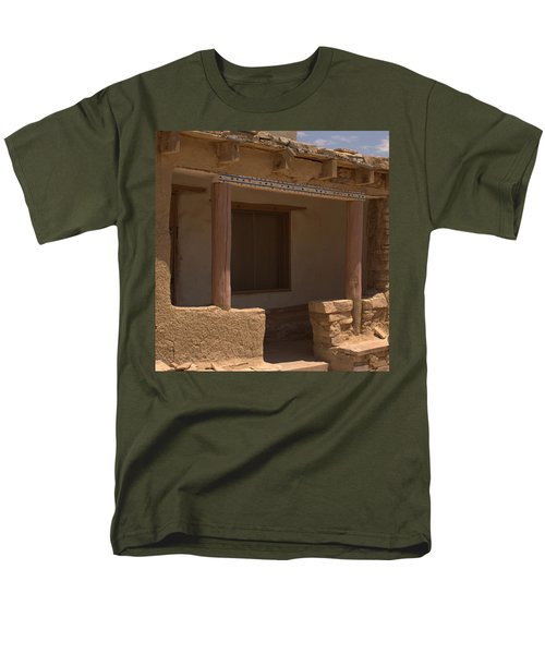 Porch Of Pueblo Home Men's T-Shirt  (Regular Fit) by James Gay