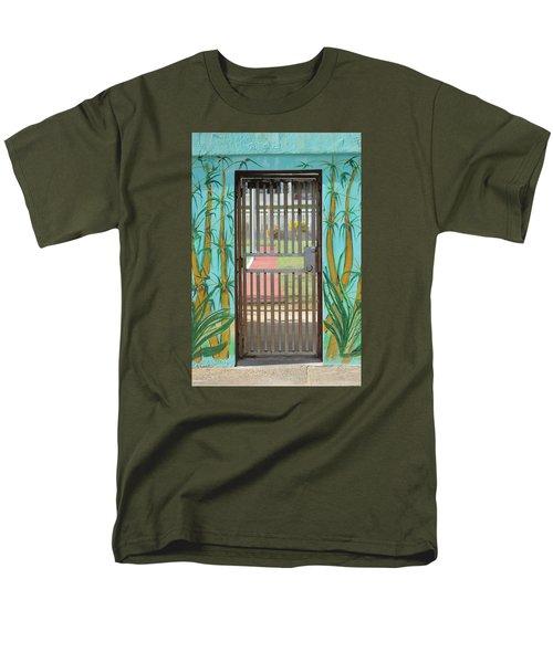 Porton Cerrado Men's T-Shirt  (Regular Fit) by The Art of Alice Terrill