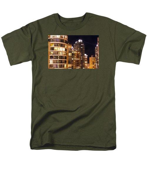 Men's T-Shirt  (Regular Fit) featuring the photograph Posh Neighbors Dccxl by Amyn Nasser