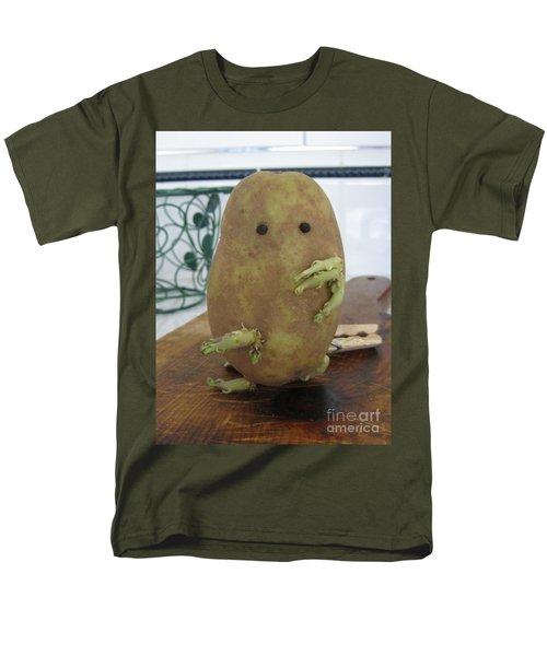 Potato Man Men's T-Shirt  (Regular Fit) by Samantha Geernaert