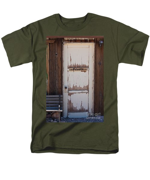 Men's T-Shirt  (Regular Fit) featuring the photograph Private by Gunter Nezhoda