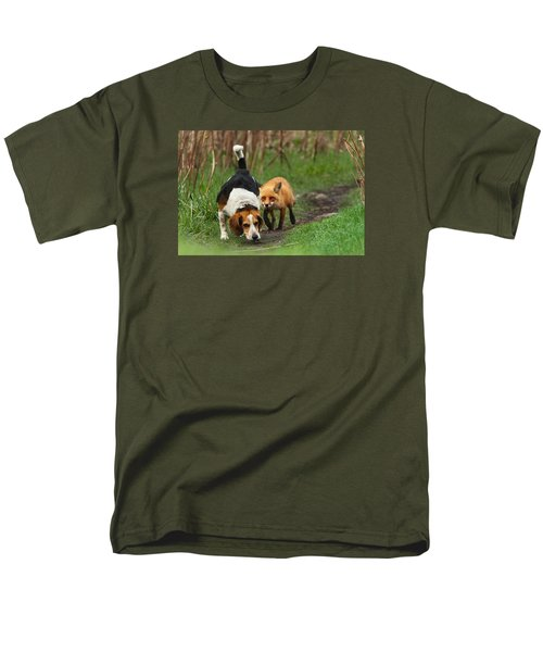 Probably The World's Worst Hunting Dog Men's T-Shirt  (Regular Fit) by Mircea Costina Photography