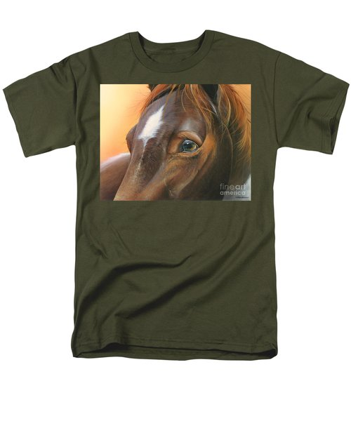 Men's T-Shirt  (Regular Fit) featuring the painting Pure Grace by Mike Brown
