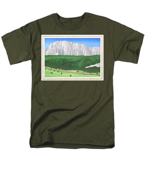 Railway Adventure Men's T-Shirt  (Regular Fit) by Ron Davidson