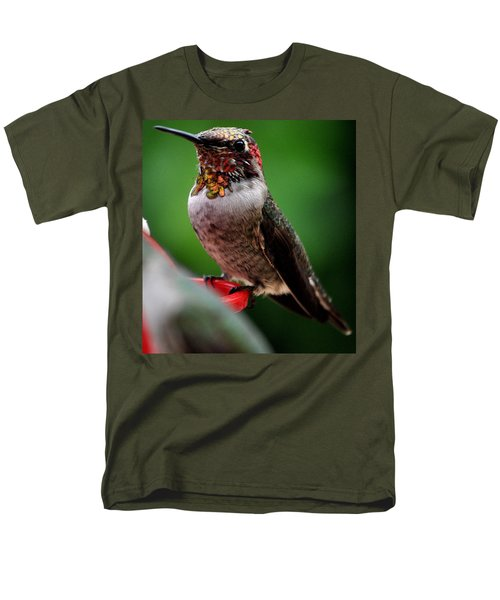Men's T-Shirt  (Regular Fit) featuring the photograph Rainbow Colored Male Anna by Jay Milo