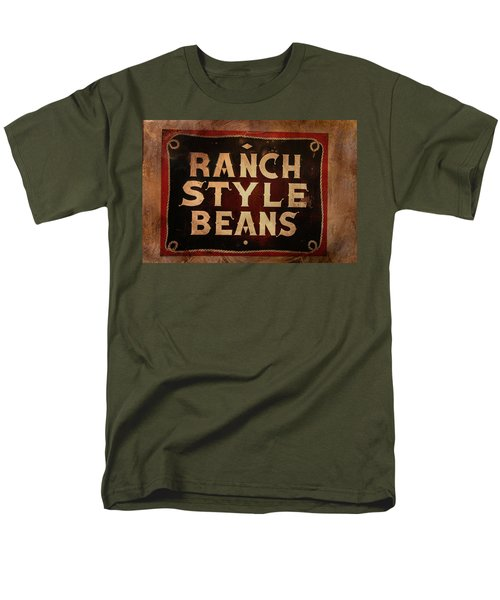 Men's T-Shirt  (Regular Fit) featuring the photograph Ranch Style Beans by Toni Hopper