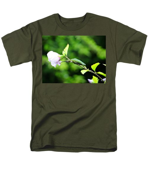 Men's T-Shirt  (Regular Fit) featuring the photograph Reaching For Nectar by Ecinja