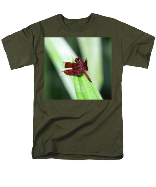 Men's T-Shirt  (Regular Fit) featuring the photograph Red Dragon by Shoal Hollingsworth