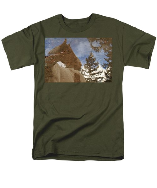Upon Reflection Men's T-Shirt  (Regular Fit) by Michelle Twohig