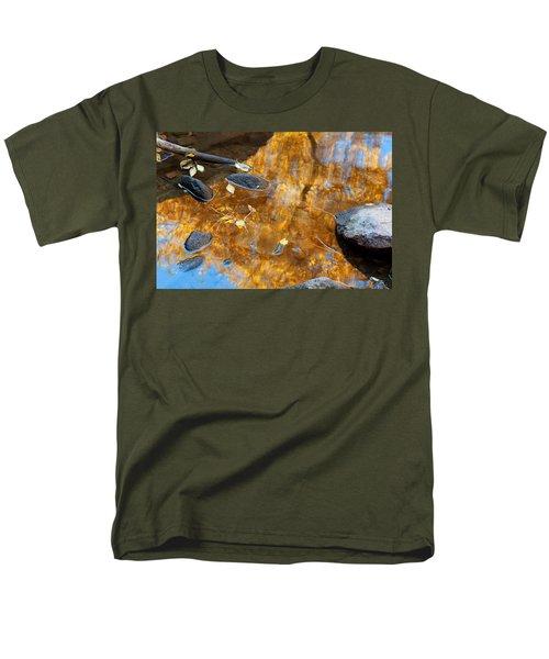 Men's T-Shirt  (Regular Fit) featuring the photograph The Melting Pot by Jim Garrison