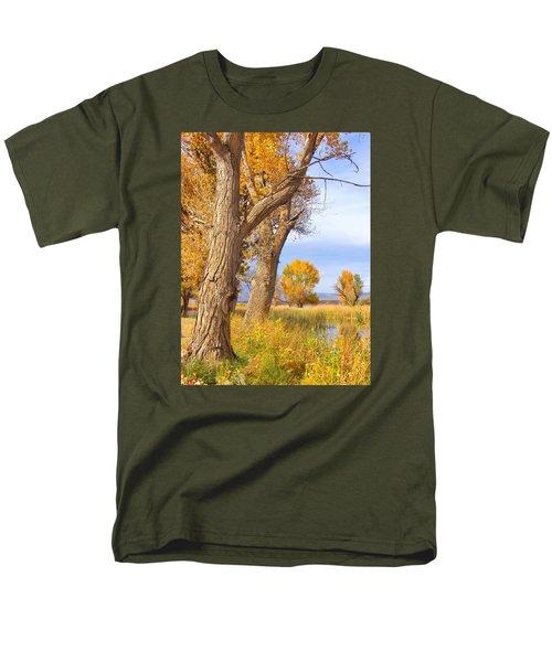 Remembering Autumn Men's T-Shirt  (Regular Fit) by Marilyn Diaz