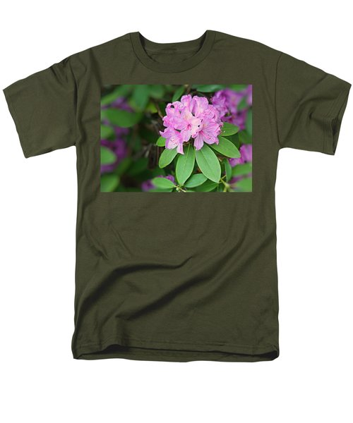 Men's T-Shirt  (Regular Fit) featuring the photograph Rhododendron by Kristin Elmquist