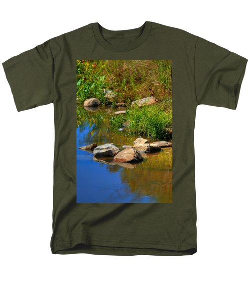 Men's T-Shirt  (Regular Fit) featuring the photograph A Clear Reflection by Ester  Rogers