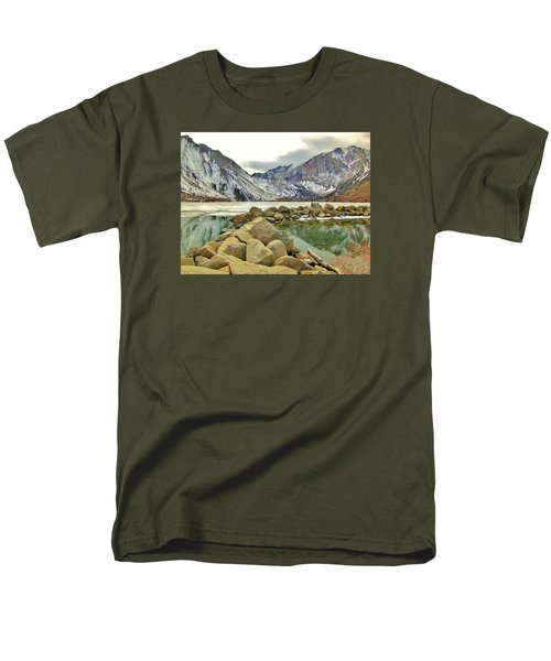 Rocks Men's T-Shirt  (Regular Fit) by Marilyn Diaz