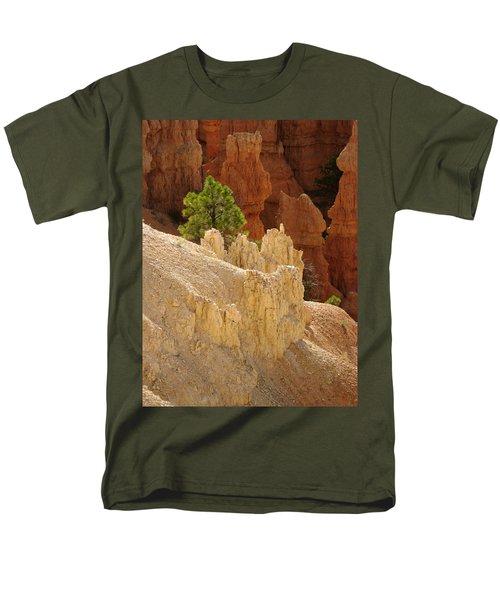 Rocky Embrace Men's T-Shirt  (Regular Fit) by Meghan at FireBonnet Art