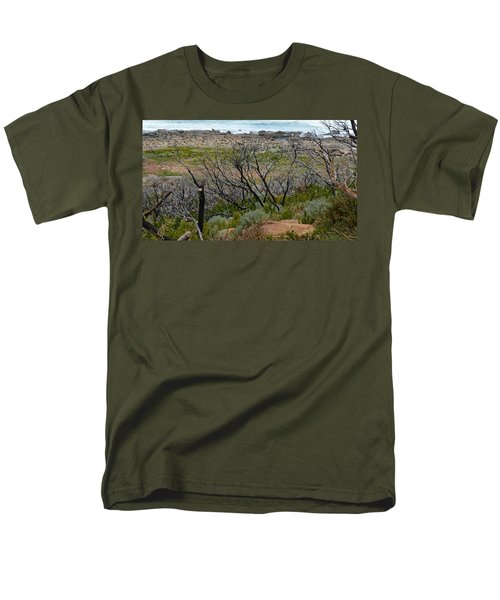 Rocky Outcrop Men's T-Shirt  (Regular Fit) by Cheryl Miller