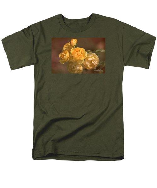 Romantic Roses Men's T-Shirt  (Regular Fit) by Joy Watson