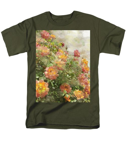 Rose Potpourri Men's T-Shirt  (Regular Fit) by Natalie Ortiz