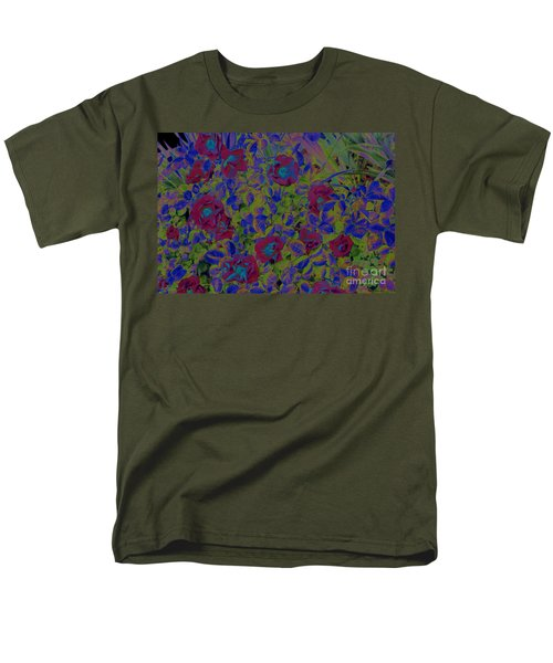 Men's T-Shirt  (Regular Fit) featuring the photograph Roses By Jrr by First Star Art