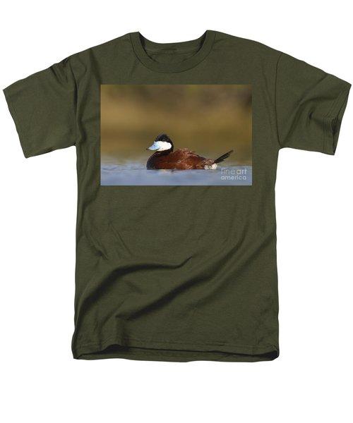 Men's T-Shirt  (Regular Fit) featuring the photograph Ruddy Duck  by Bryan Keil