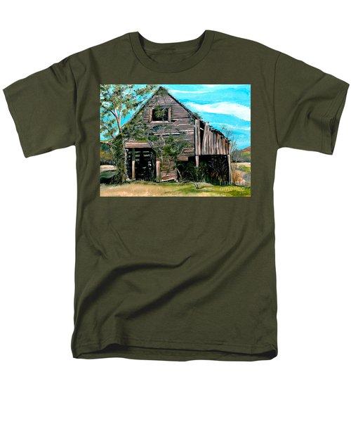 Rustic Barn - Mooresburg - Tennessee Men's T-Shirt  (Regular Fit) by Jan Dappen