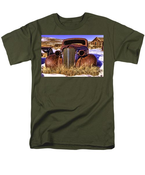 Men's T-Shirt  (Regular Fit) featuring the painting Rusty by Muhie Kanawati