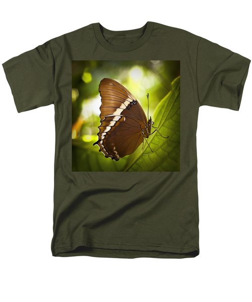 Men's T-Shirt  (Regular Fit) featuring the photograph Rusty Tip Butterfly by Bradley R Youngberg