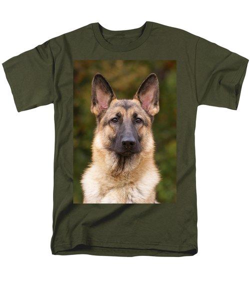 Sable German Shepherd Dog Men's T-Shirt  (Regular Fit) by Sandy Keeton