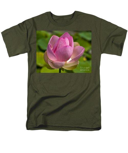 Sacred Lotus Men's T-Shirt  (Regular Fit) by Lana Enderle