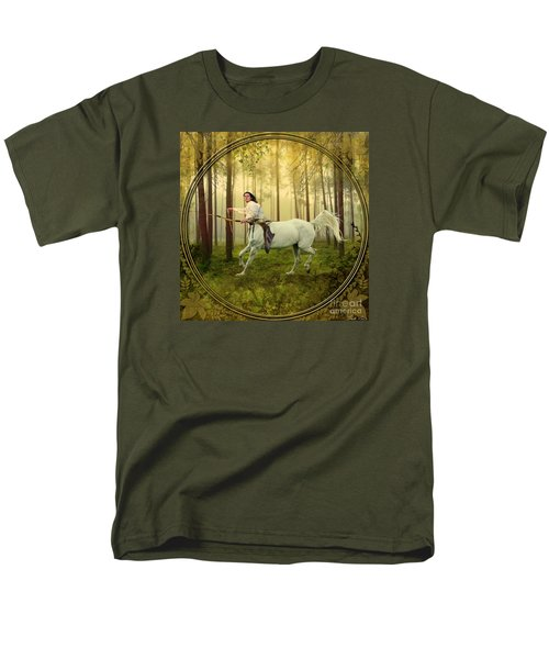 Sagittarius Men's T-Shirt  (Regular Fit) by Linda Lees