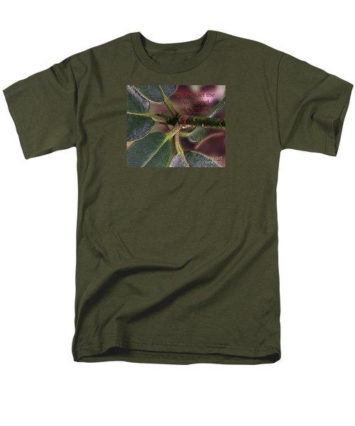 Men's T-Shirt  (Regular Fit) featuring the photograph Saint Michael The Archangel by Jean OKeeffe Macro Abundance Art