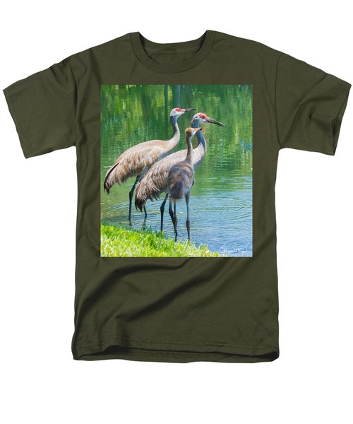 Mom Look What I Caught Men's T-Shirt  (Regular Fit) by Susan Molnar