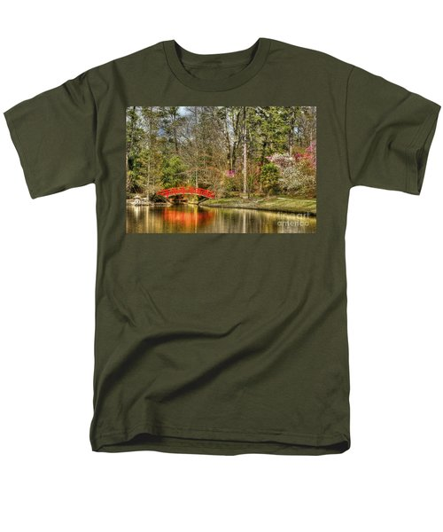 Sarah P. Duke Gardens Men's T-Shirt  (Regular Fit) by Benanne Stiens