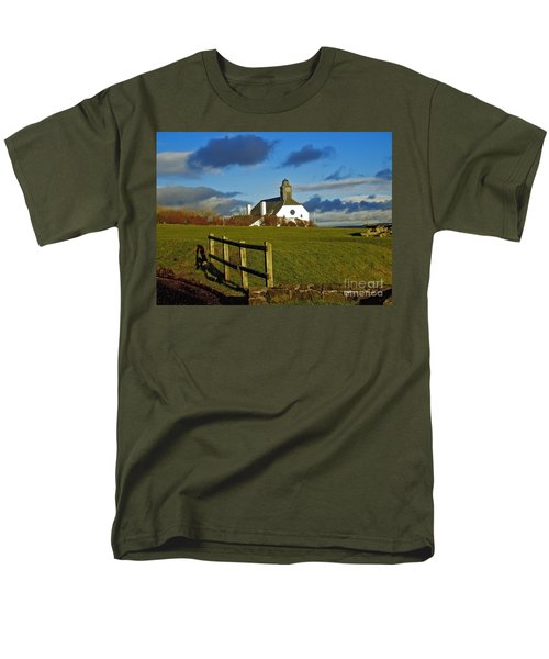 Scene From Giants Causeway Men's T-Shirt  (Regular Fit) by Nina Ficur Feenan