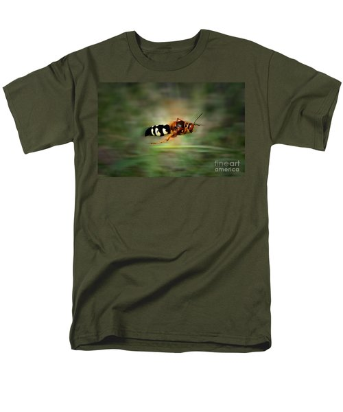 Men's T-Shirt  (Regular Fit) featuring the photograph Scouting Mission by Thomas Woolworth
