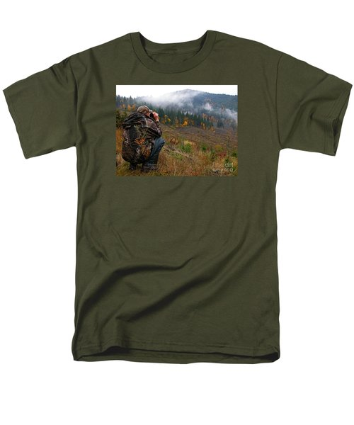 Men's T-Shirt  (Regular Fit) featuring the photograph Scouting by Nick  Boren