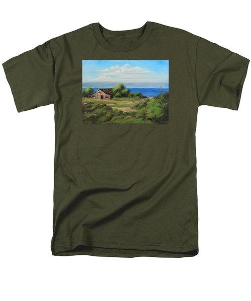 Sea Breeze Men's T-Shirt  (Regular Fit) by Remegio Onia